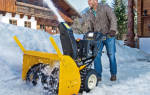 Правила выбора снегоуборочной техники для дачи, снегоуборщики + видео