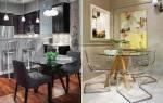 Стеклянные столы для кухни — выбор форм и ножек, модели, видео