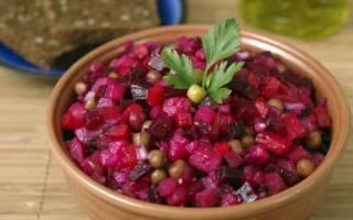 Как приготовить винегрет, особенности нарезки овощей и заправки салата, видео