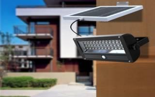 Освещение двора на солнечных батареях — фонари, светильник, видео