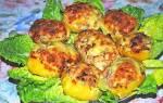 Фаршированный картофель в духовке — пошаговые рецепты с фото, видео