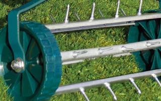 Аэратор для газона — отличие от скарификатора, правила использования, видео