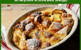 Черствый хлеб — что приготовить на завтрак, обед или ужин, рецепты