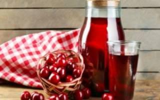 Компот из вишни на зиму — простой рецепт, напиток с замороженной вишни, приготовление без стерилизации, видео