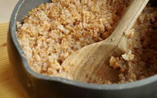 Как варить пшеничную крупу, пропорции воды и крупы, сколько варить