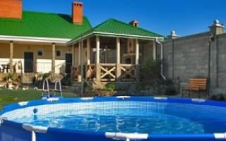 Как выбрать бассейн для дачи — каркасные, надувные, видео