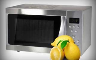 Как почистить микроволновку лимоном, лучшие способы очистки