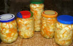 Салат из патиссонов на зиму — рецепты приготовления с добавлением кабачков, огурцов, помидор, чеснока, приготовление по корейски, видео