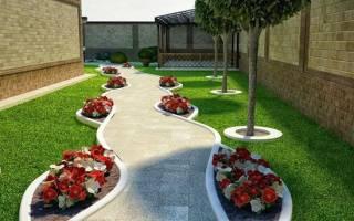 Дизайн участка вытянутой формы — правила зонирования, укладки дорожек, видео