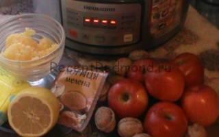 Запеченные яблоки в духовке, мультиварке с медом, творогом, орехами и корицей, видео