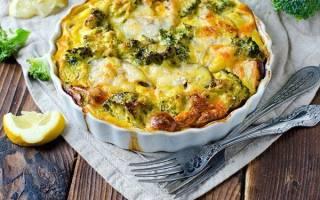 Запеканка из брокколи — пошаговый рецепт приготовления, видео