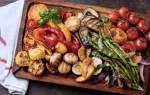 Запеченные овощи в духовке на противне, в рукаве, время запекания