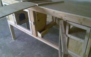 Как сделать клетку для кроликов для помещения и для улицы, видео