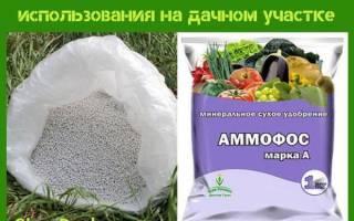 Удобрение Аммофос — инструкция по применению на даче, видео