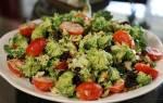 Салат из брокколи — несколько вариантов приготовления, видео