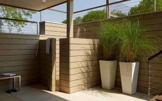 Летний душ на даче — идеи дизайна, выбор места установки, видео