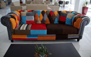 Перетяжка дивана своими руками, замена наполнителя, обивки, видео
