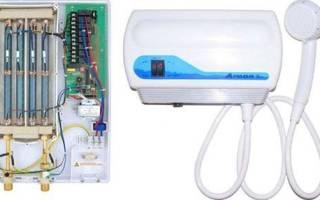 Проточный водонагреватель электрический на душ — обзор марки Atmor Enjoy 100, как выбрать для дачи и квартиры, видео