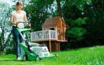 Электрические газонокосилки — технические характеристики самоходных и несамоходных моделей, видео