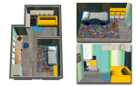 Дизайн детской комнаты — проекты оформления, выбор мебели, обустройство, видео
