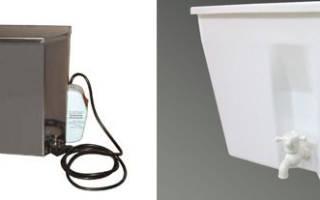 Водонагреватель для дачи — наливной с нагревателем, умывальник мойдодыр, наливной с душем, электрический наливной, видео