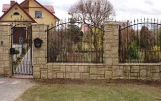 Забор для дачи — идеи дизайна, выбор материала, фото ограждений, видео