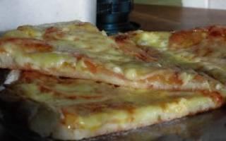 Классическая пицца в домашних условиях, рецепт приготовления, видео