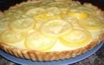 Пирог с лимоном — рецепты из песочного, дрожжевого и бисквитного теста, видео