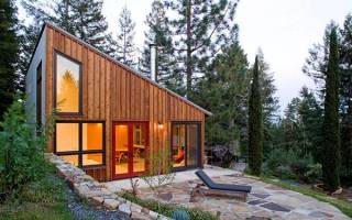 Дачный дом — варианты дизайна, выбор стройматериалов, проекты, видео