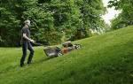 Как выбрать газонокосилку для дачи и сада, для неровного участка, видео