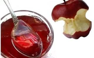 Используем яблочные отходы в кулинарии, яблочное желе