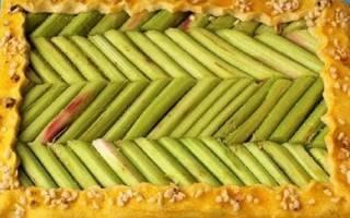Ревень — рецепт приготовления пирога, видео