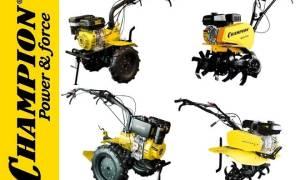 Культиватор Чемпион — обзор моделей 5712, 5602, 243, 7712, 6712, запчасти, ремонт, видео