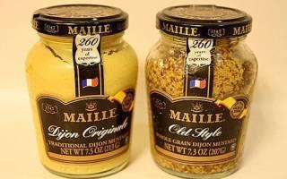 Дижонская горчица — чем отличается от обычной, рецепт приготовления в домашних условиях, видео