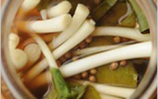 Черемша маринованная, рецепты приготовления на зиму дома