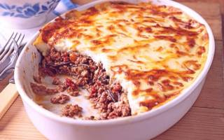 Мусака по-гречески с баклажанами — рецепты приготовления с добавлением картофеля, кабачков, фото, видео
