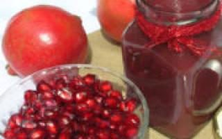 Варенье из граната с косточками и без, рецепт приготовления