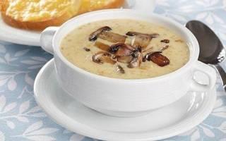 Сырный суп с грибами, как приготовить, рецепт с фото, видео