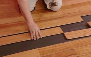 Подложка под ламинат — какая лучше на бетонный, деревянный пол