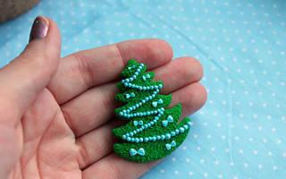Елочные игрушки из полимерной глины своими руками, мастер-класс, видео