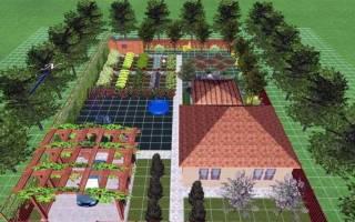 Как правильно организовать сад, виды планировки