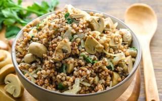 Гречка с грибами и луком — рецепт приготовления, выбор продуктов, видео