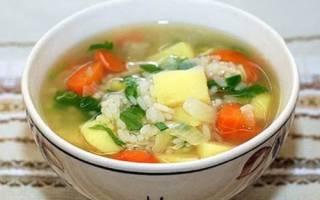Суп с рисом картофелем и мясом — пошаговые рецепты с фото, видео