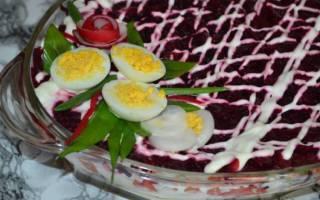 Селедка под шубой с яблоком, пошаговый рецепт с фото