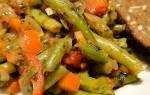 Лобио из стручковой фасоли — рецепт приготовления лобио по-грузински, из зеленой фасоли, фото, видео