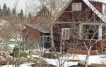 Март месяц в саду — чистим снег, обрезаем деревья, весенняя побелка, видео