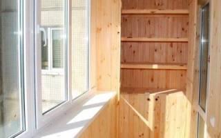 Вагонка для балкона — какую выбрать, как обшить балкон своими руками, пошаговая инструкция, видео