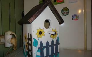 Кормушки для птиц — оригинальные идеи из дерева, фарфора, стекла