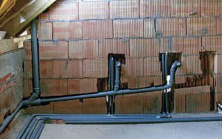 Уклон канализационной трубы в квартире, доме, на улице, видео