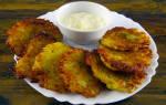 Рецепт драников из картошки с луком, фаршем, сыром, без яиц